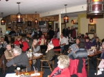 The crowd at Lane's enjoying supper entertainment